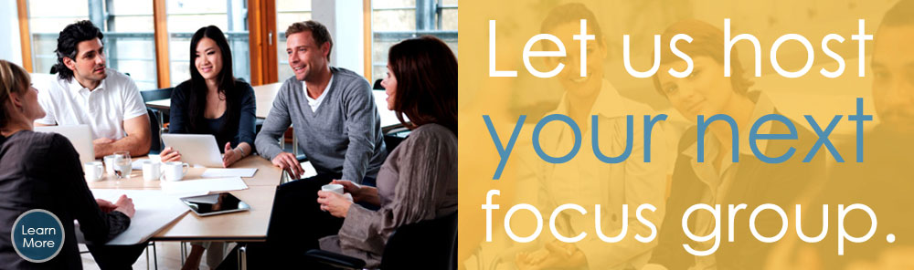 Let us host your next focus group